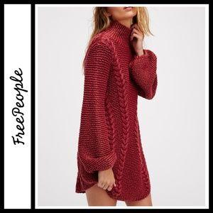 Free People Back To Back Sweater Mini Dress